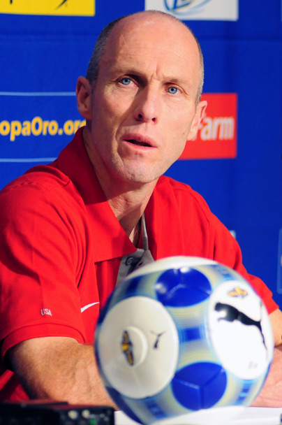 Bob Bradley took a chance starting Connor Casey against Honduras, but it paid off in a big way. Leaving Jozy Altidore on the bench was a hard decision, but one that had to be made. Now Bradley has another task on his hands, who can he find to fill in for Charlie Davies? (Courtesy Wikicommons)