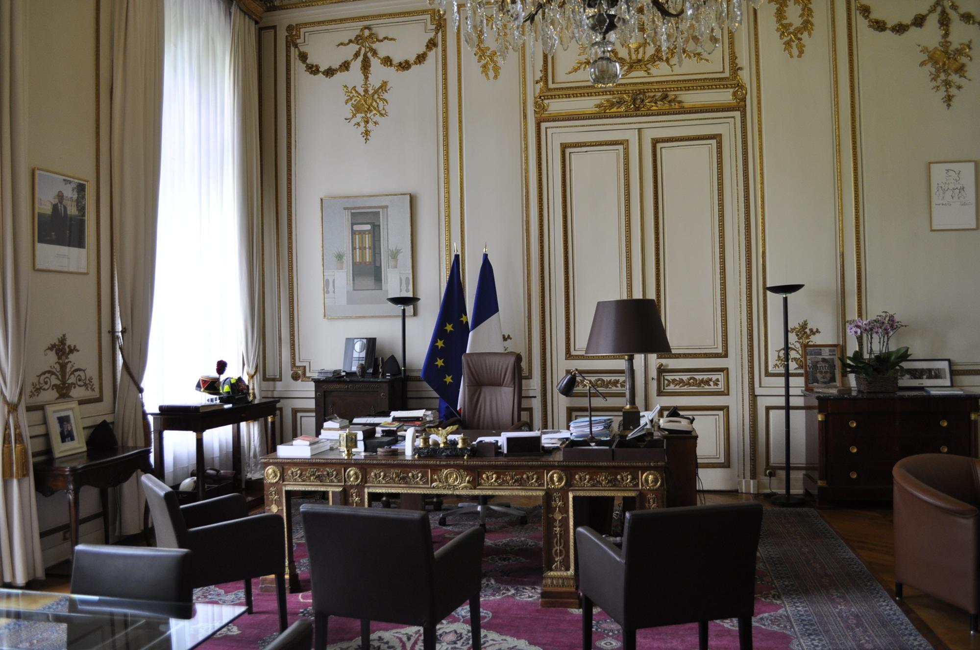 FileHtel De Beauvau Bureau Du MinistreJPG Wikimedia