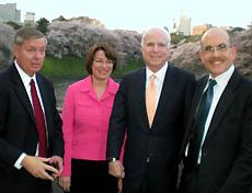 Lindsey Graham, Senator, Amy Klobuchar, Senato...