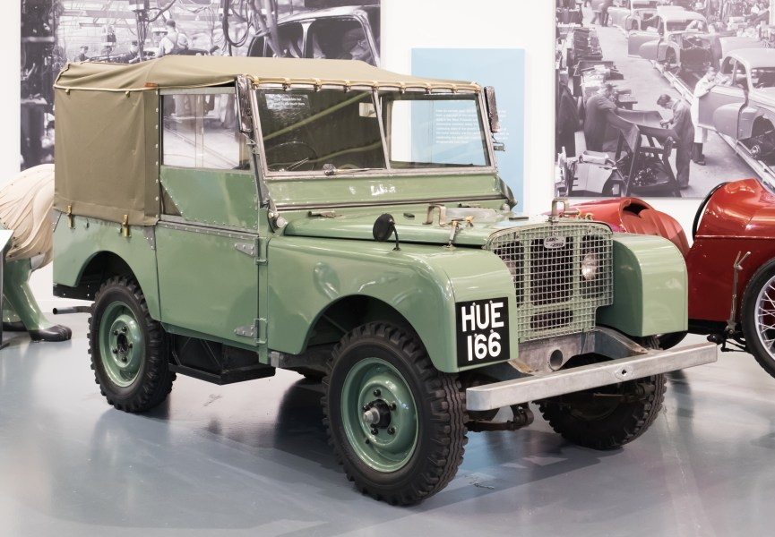 1964 austin cars » Land Rover series   Wikipedia Land Rover Series I 1948  HUE 166  jpg