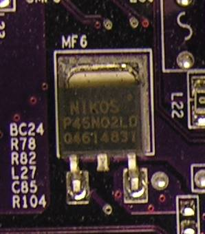 High-power N-channel field-effect transistor
