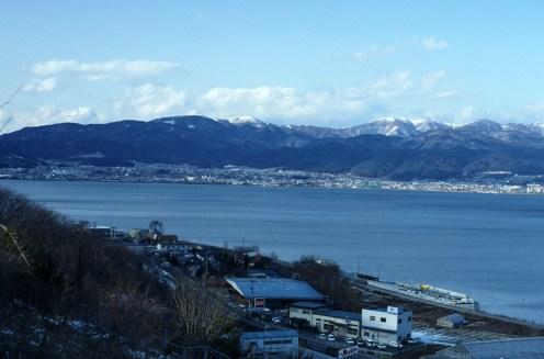 Your Name (kimi no na wa) Locations: The Lake Suwa