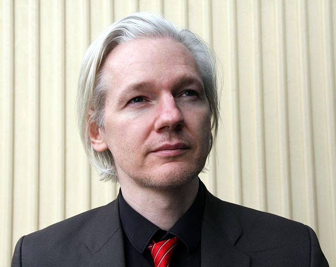 Julian Assange (Norway, March 2010) via Wikipedia