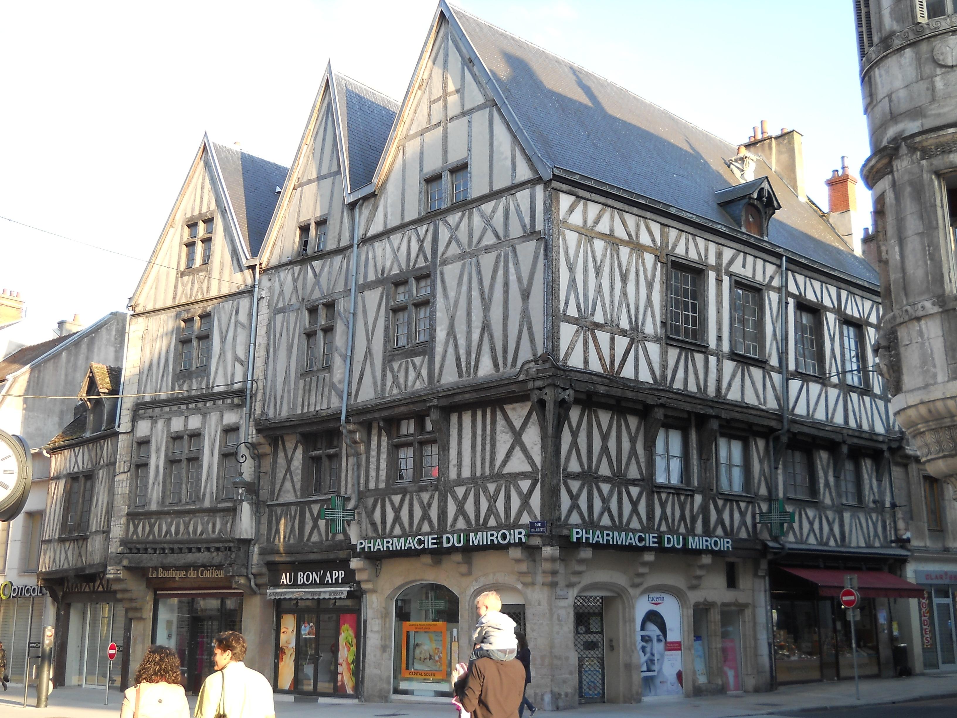 File Dijon Maison 3 Visages Jpg Wikimedia Commons