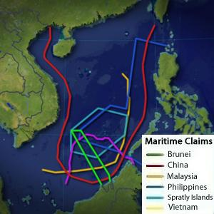 Maritime claims in the South China Sea