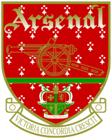 Arsenal adopted this red crest in 1949, which ...