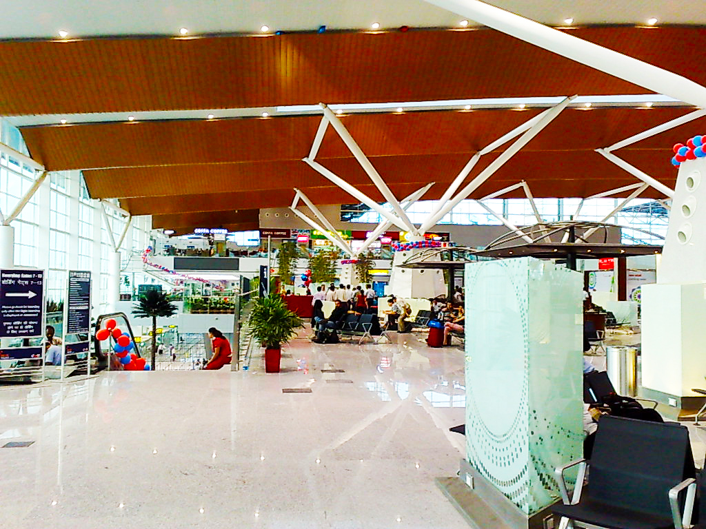 New Delhi Airport Terminal 1D