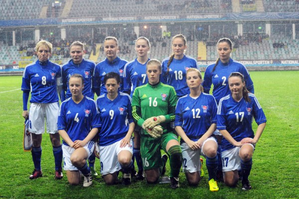 Faroe Islands women's national football team - Wikipedia