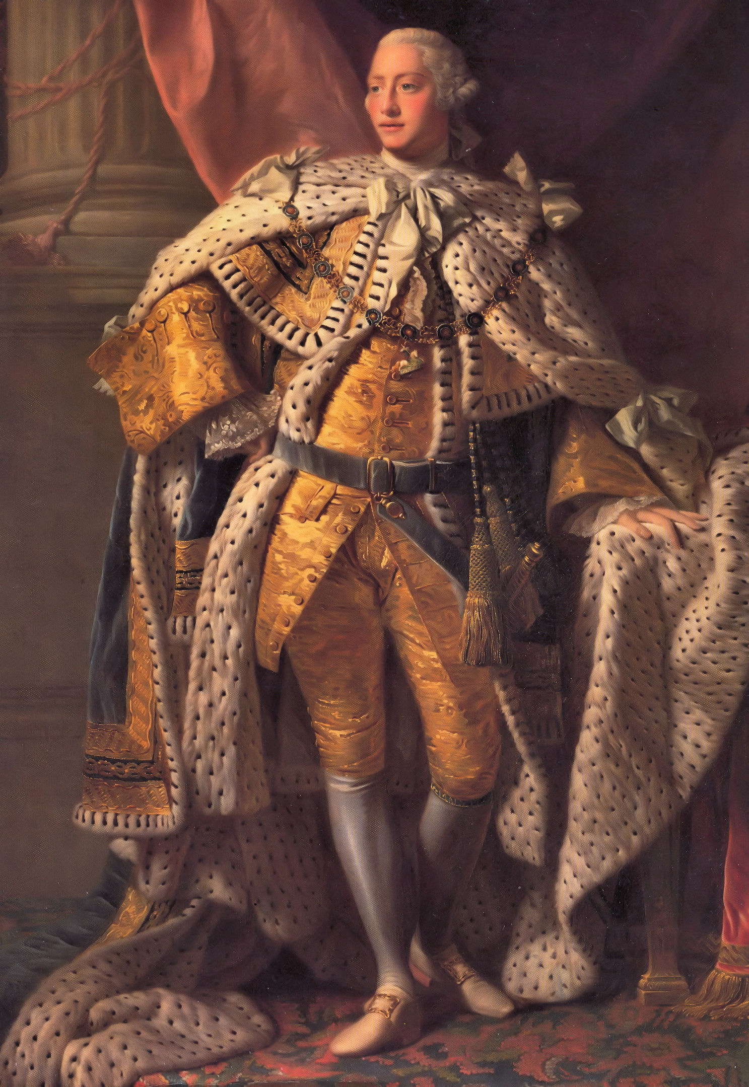 King George III in Coronation Robes Public Domain [Wikipedia Commons]