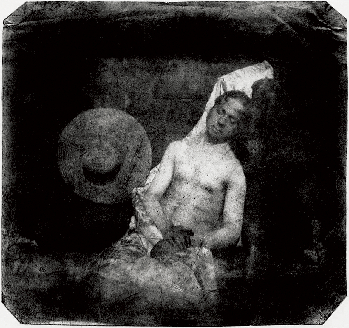 Drowned Man, 1840