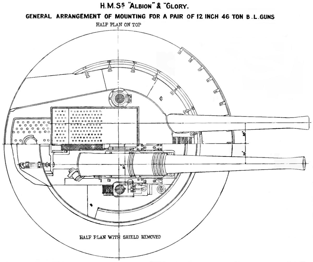 File Canopus Class 12 Inch Gun Turret Plan