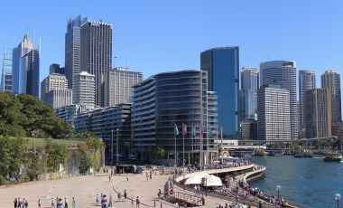 Circular Quay from the eastern side (2008)- recommended skywalks in Sydney