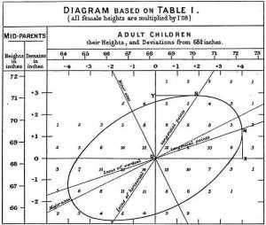File:Galton's correlation diagram 1875jpg  Wikimedia Commons