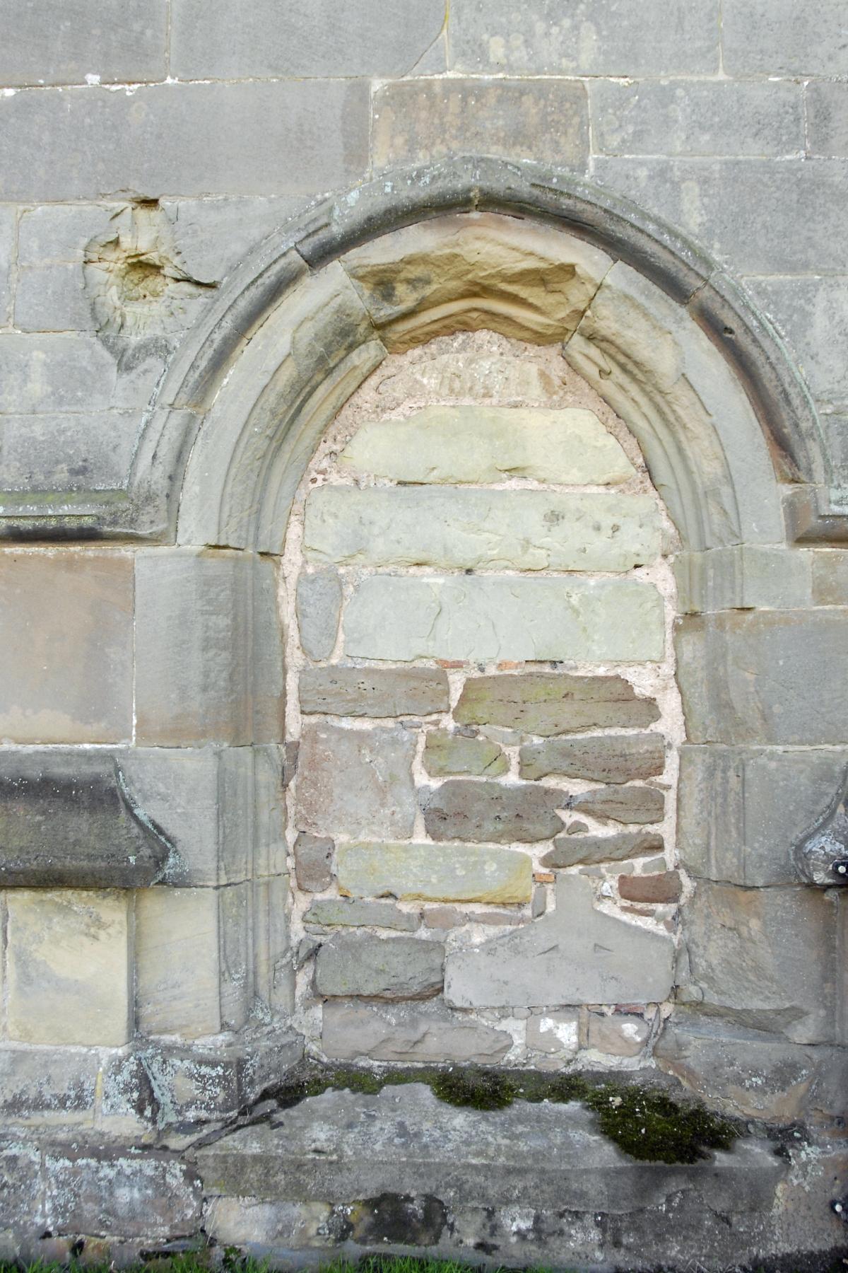 File:North Door of St Bartholomew's Church in Tong, Shropshire.jpg