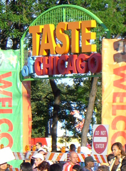English: Taste of Chicago