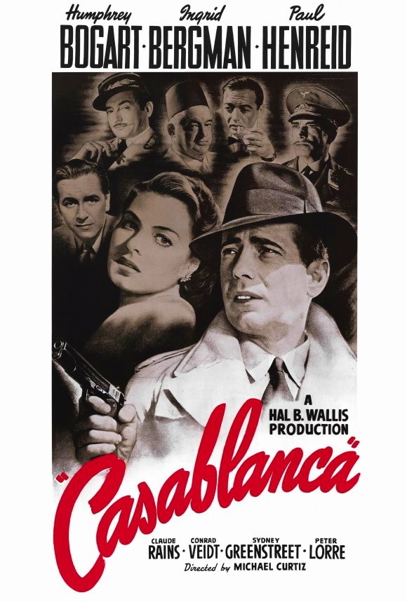 Casablanca filmposter