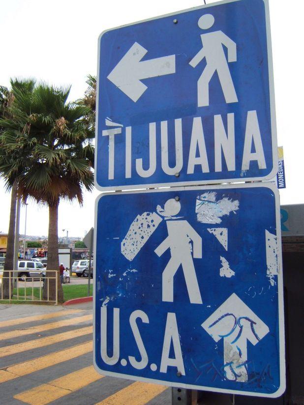 Resultado de imagen para tijuana border crossing
