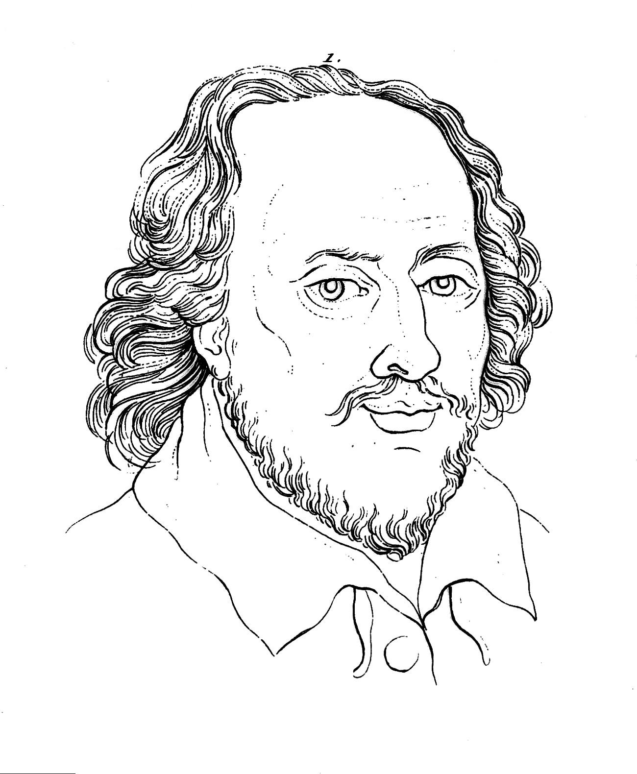 File Portrait Of Shakespeare Wellcome L