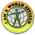 World citizen badge