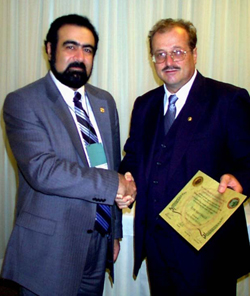 English: Prof.Dr. Elchin Khalilov and Prof.Dr....