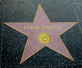 Frank Sinatra Hollywood star