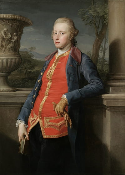 Painting of the 5th Duke of Devonshire
