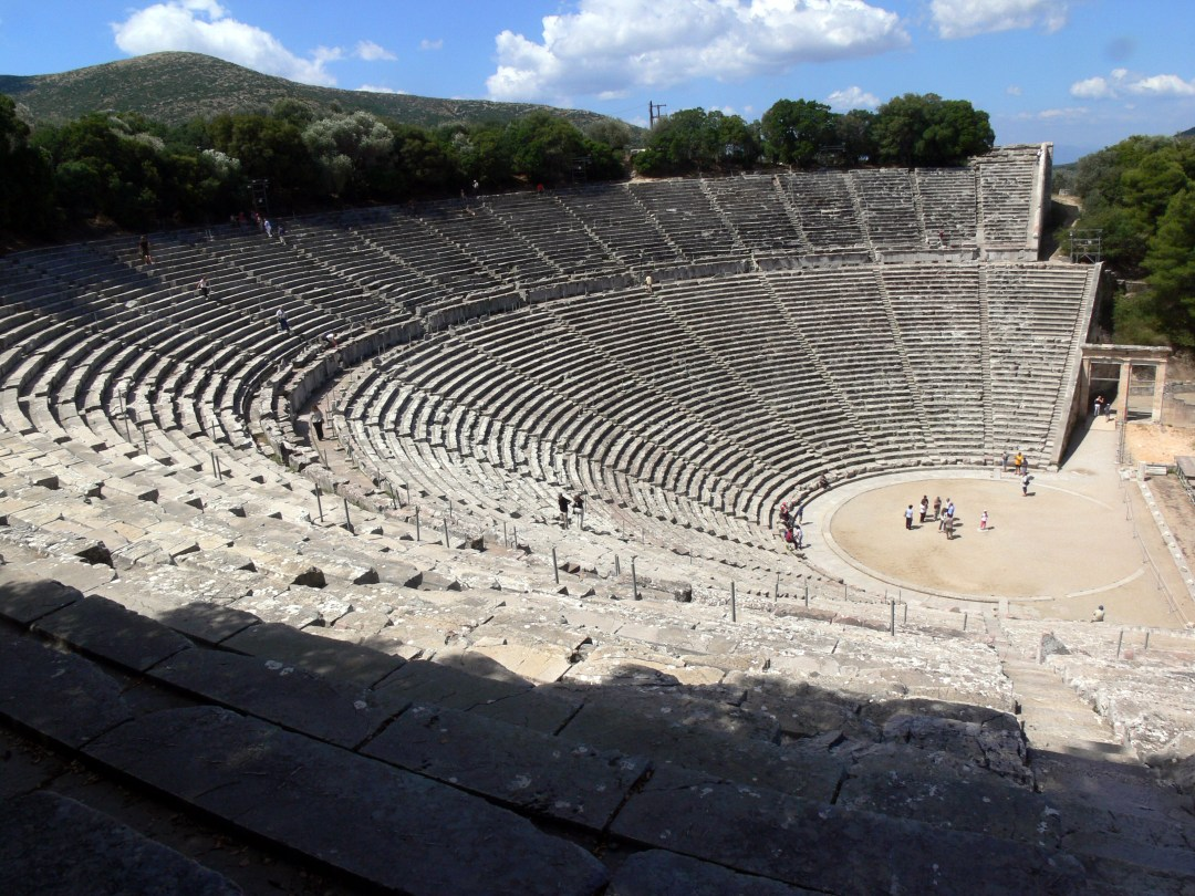 The theatre of Epidauros, 4th century BC- Most surreal places to visit