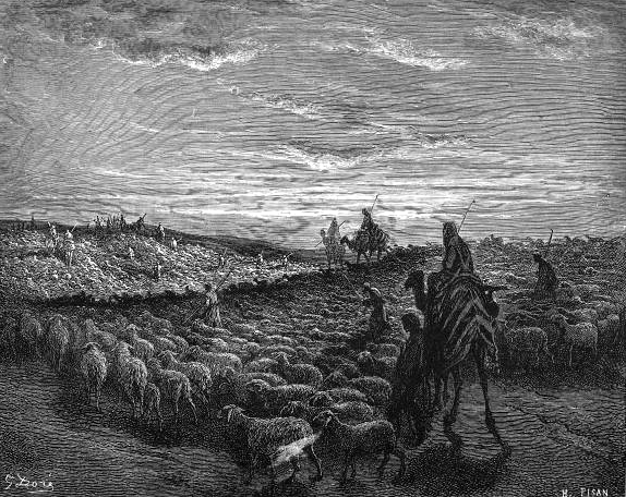 File:Abraham Journeying into the Land of Canaan.png
