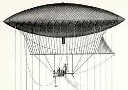 Giffard tarafından 1852 yılında bulunmuş olan yönlendirilebilir balon