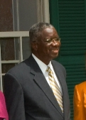 Barbados' Prime Minister Freundel Stuart (Photo credit: Wikipedia)