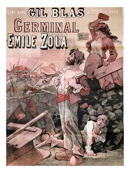 Annonce de la parution de Germinal dans le magazine Gil Blas du 25 novembre 1884.