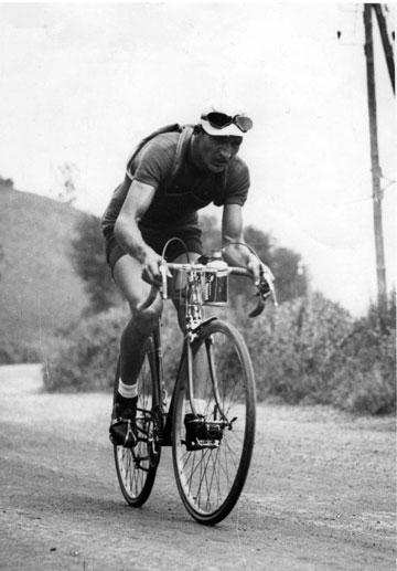Gino Bartali (1914-2000) Italian cyclist, king...