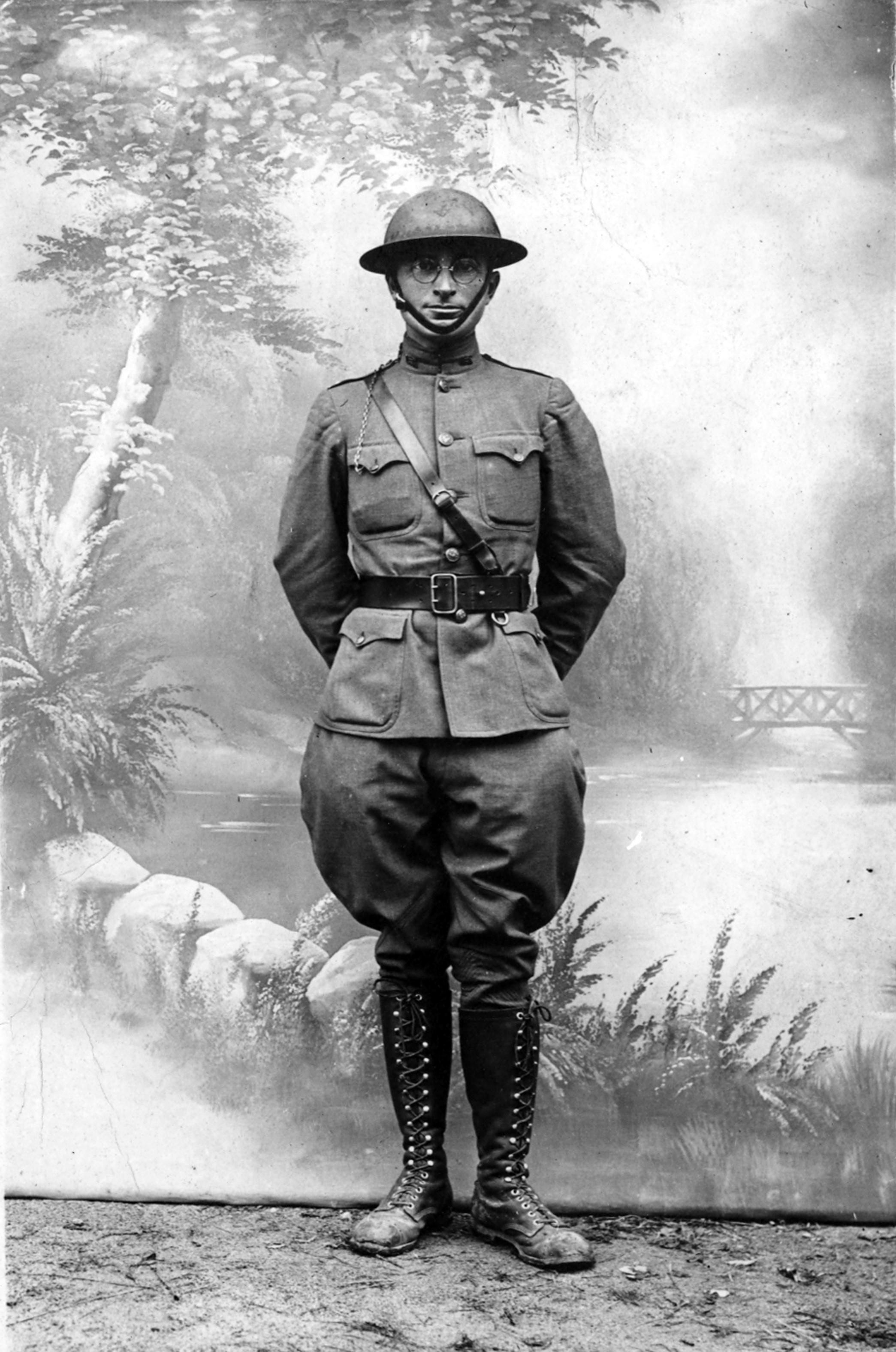 Truman als junger Soldat