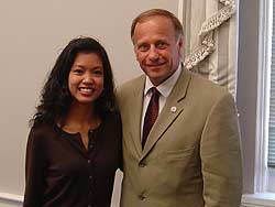 Conservative pundit Michelle Malkin with Repub...