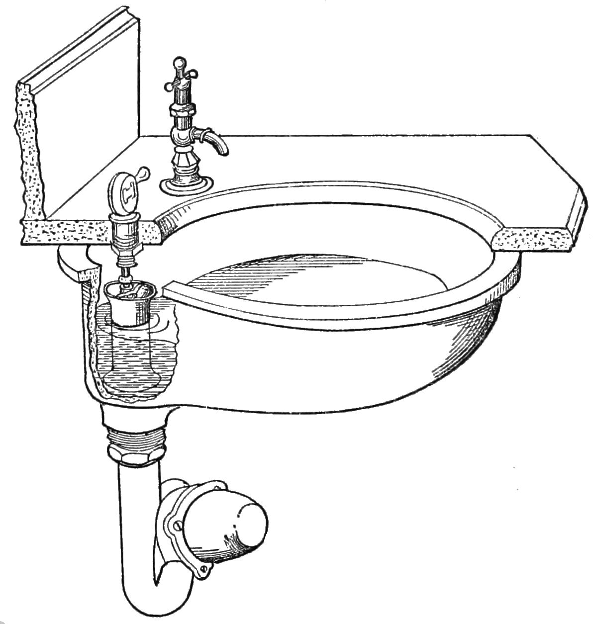 File Psm V33 D316 Proper Arrangement Of Plumbing Overflow And Waste Water Trap