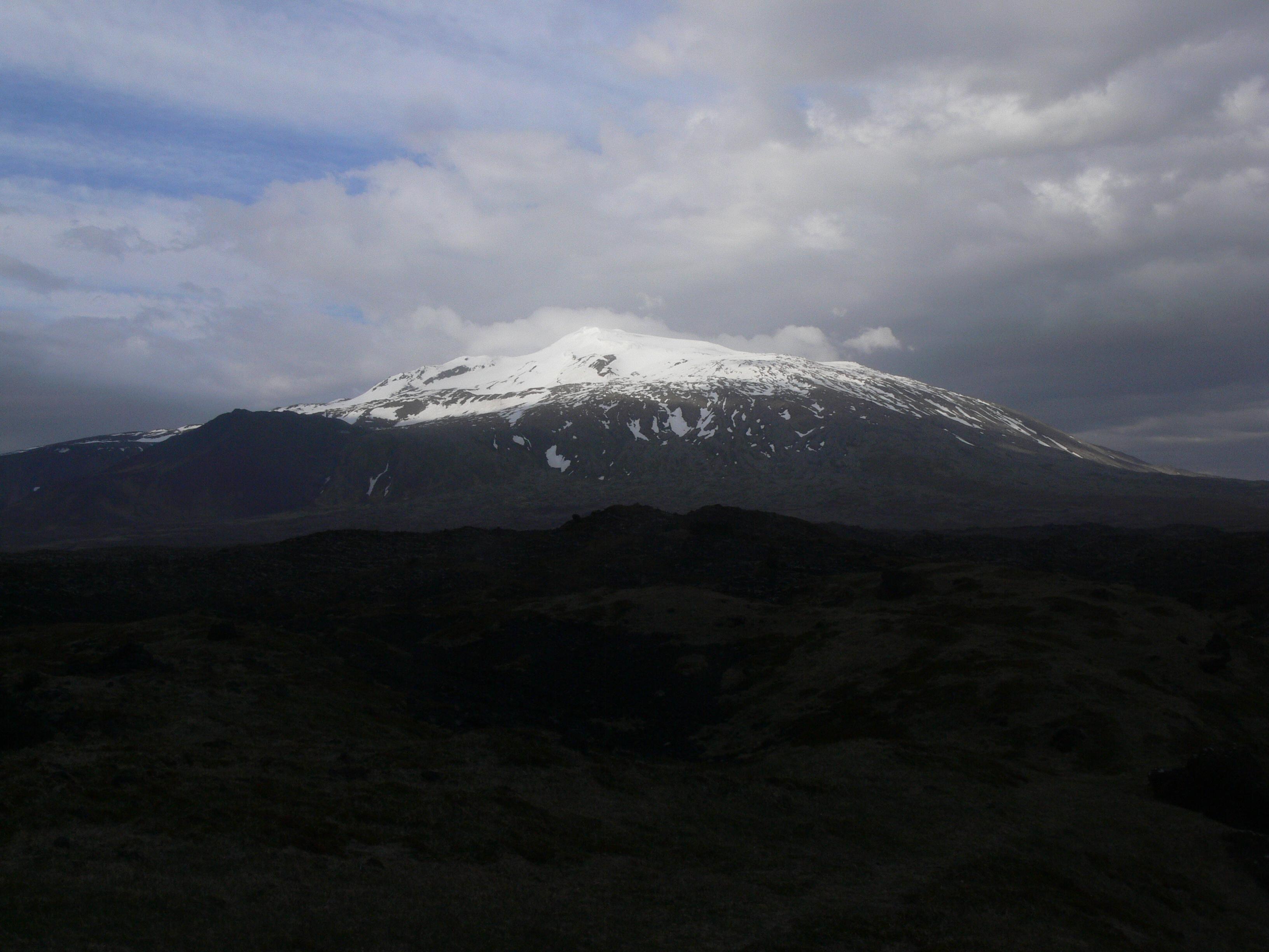 Mountain Snæfellsjökull