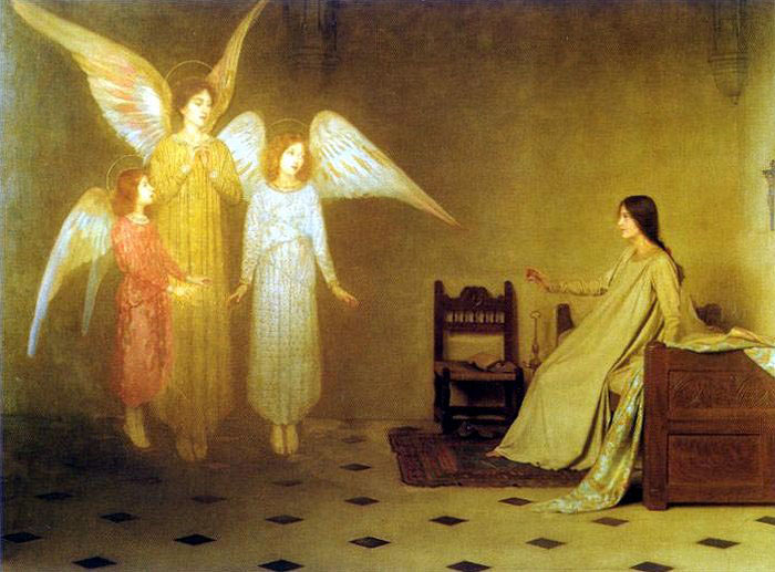 Angelic visitation