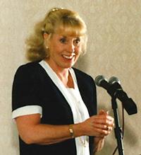 English: Betty Williams, 1976 Noble Peace Priz...