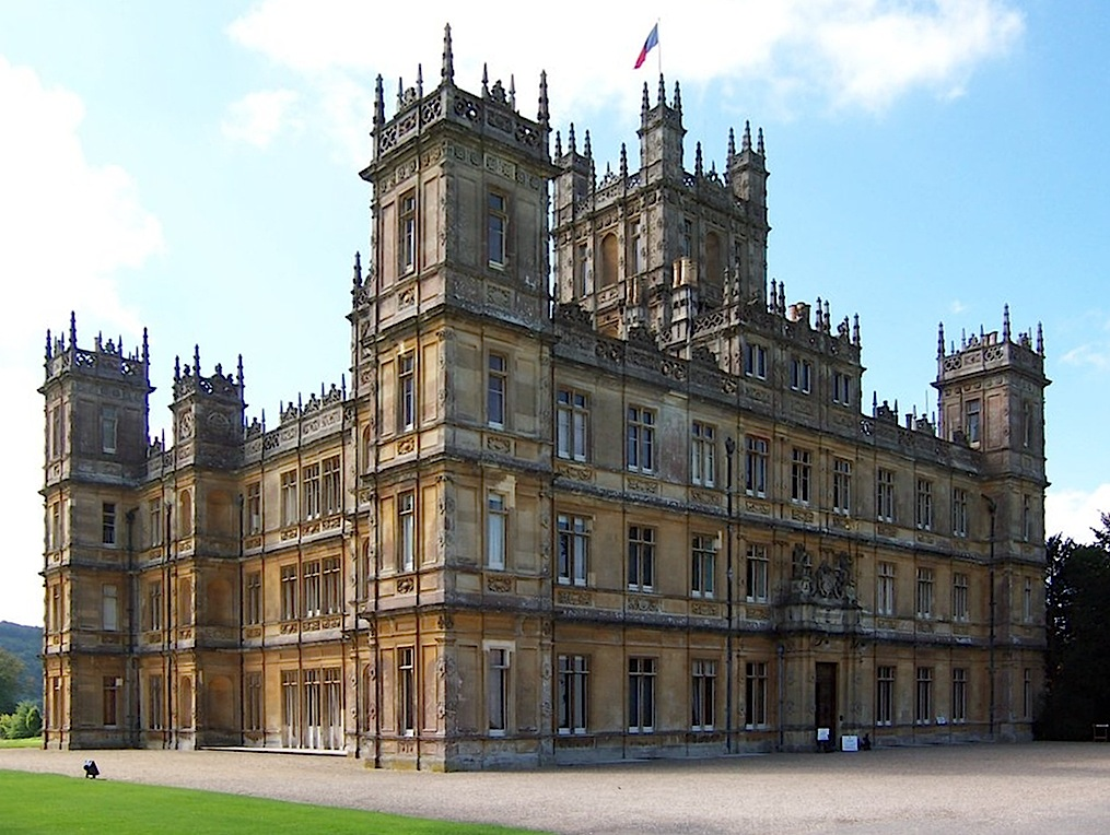 """Highclere Castle"", ""Downton Abbey"""