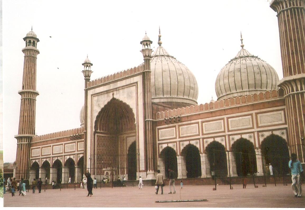 English: Jama Masjid in Old Delhi