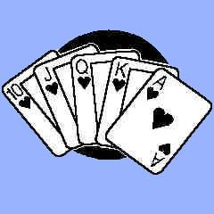 Image with royal flush.