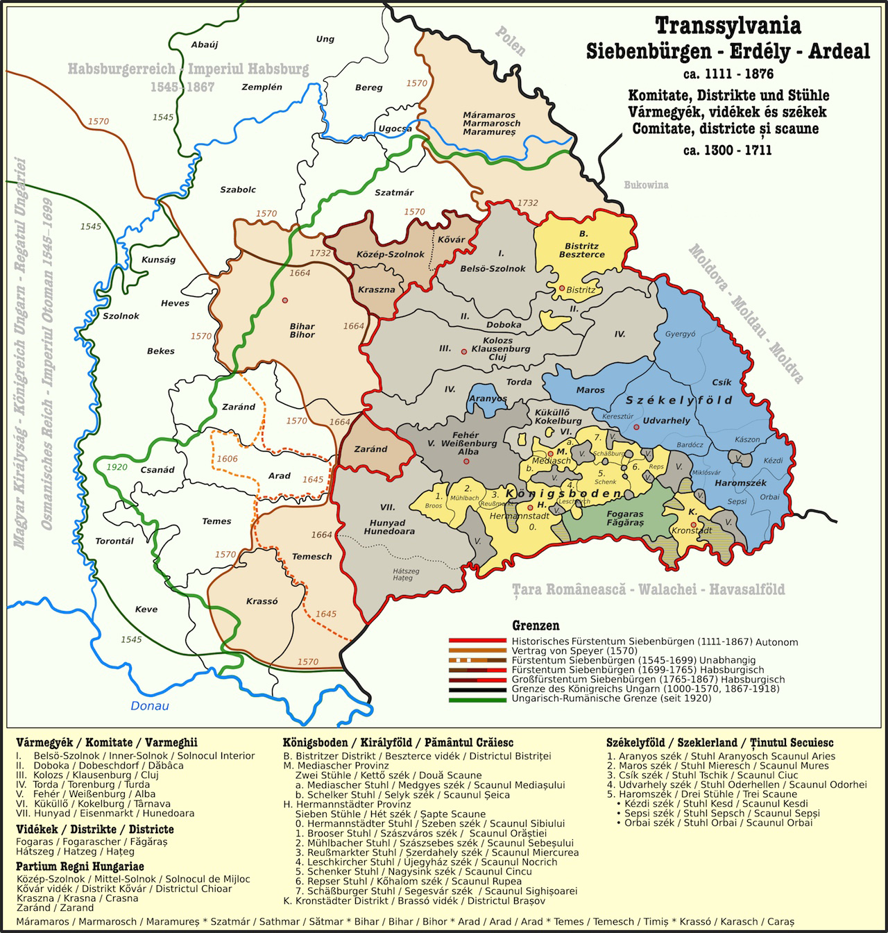 Transilvania medievala