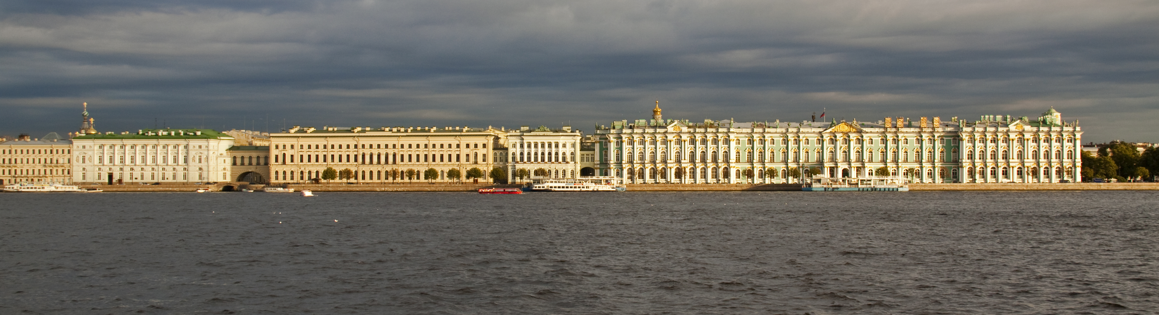 English: Sankt Petersburg, Winter Palace from ...