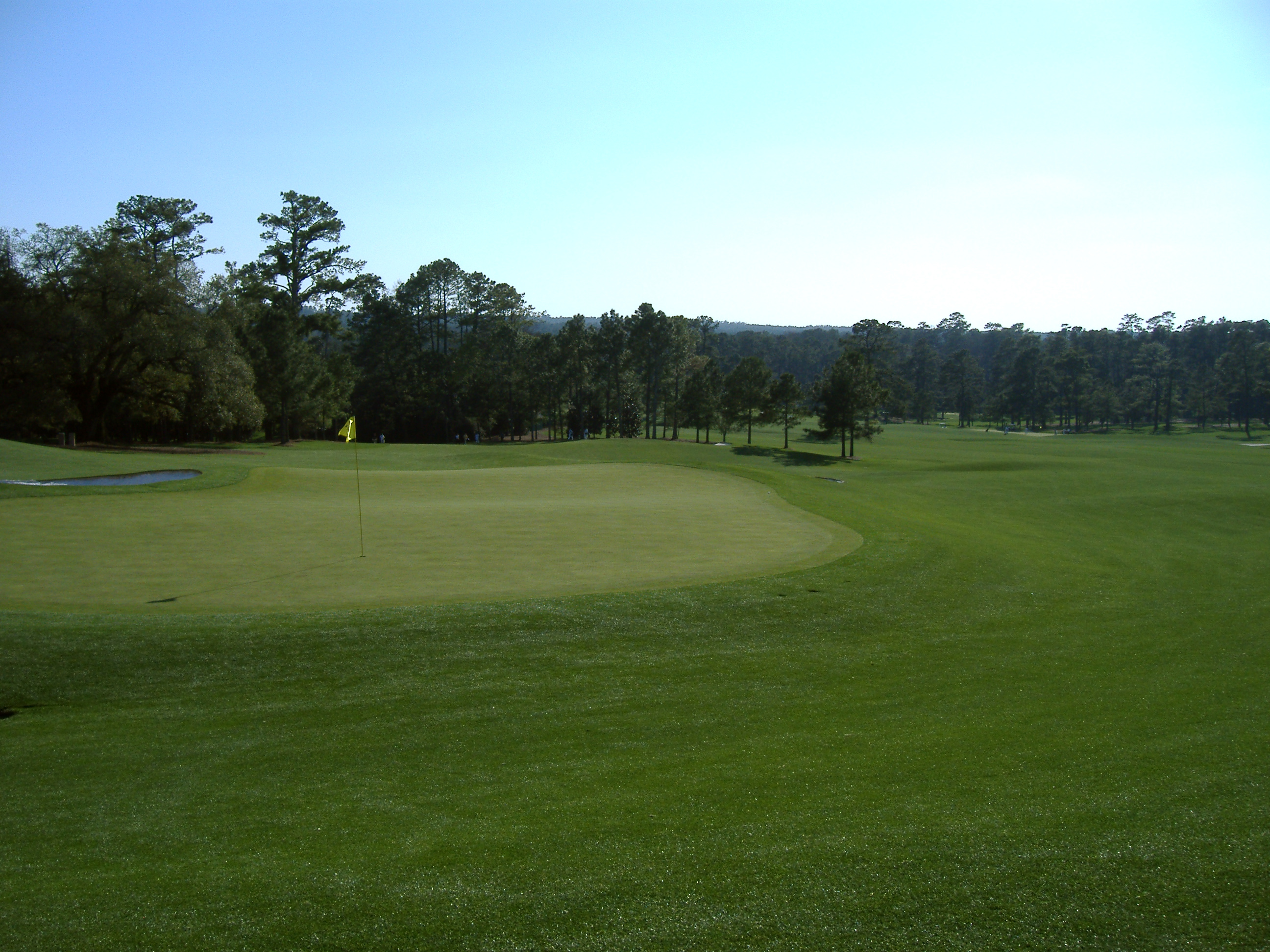 18th Green, Augusta National Golf Club