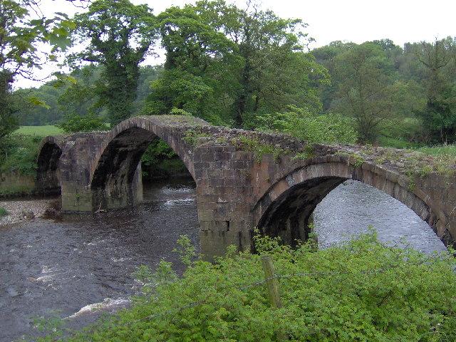 English: Cromwell's Bridge. Photo taken on a n...