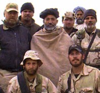 Hamid Karzai with U.S. Special Forces during O...