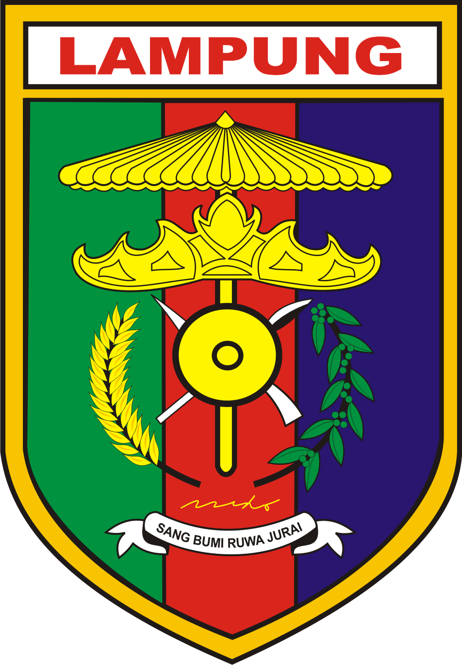 Coat of Arms of Indonesian province of South S...