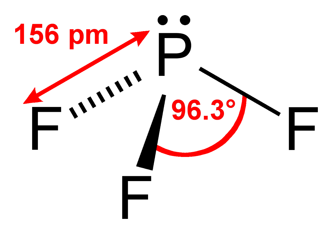 What Is The Vsepr Shape Of The Molecule Pf 3