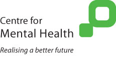 English: Centre for Mental Health logo