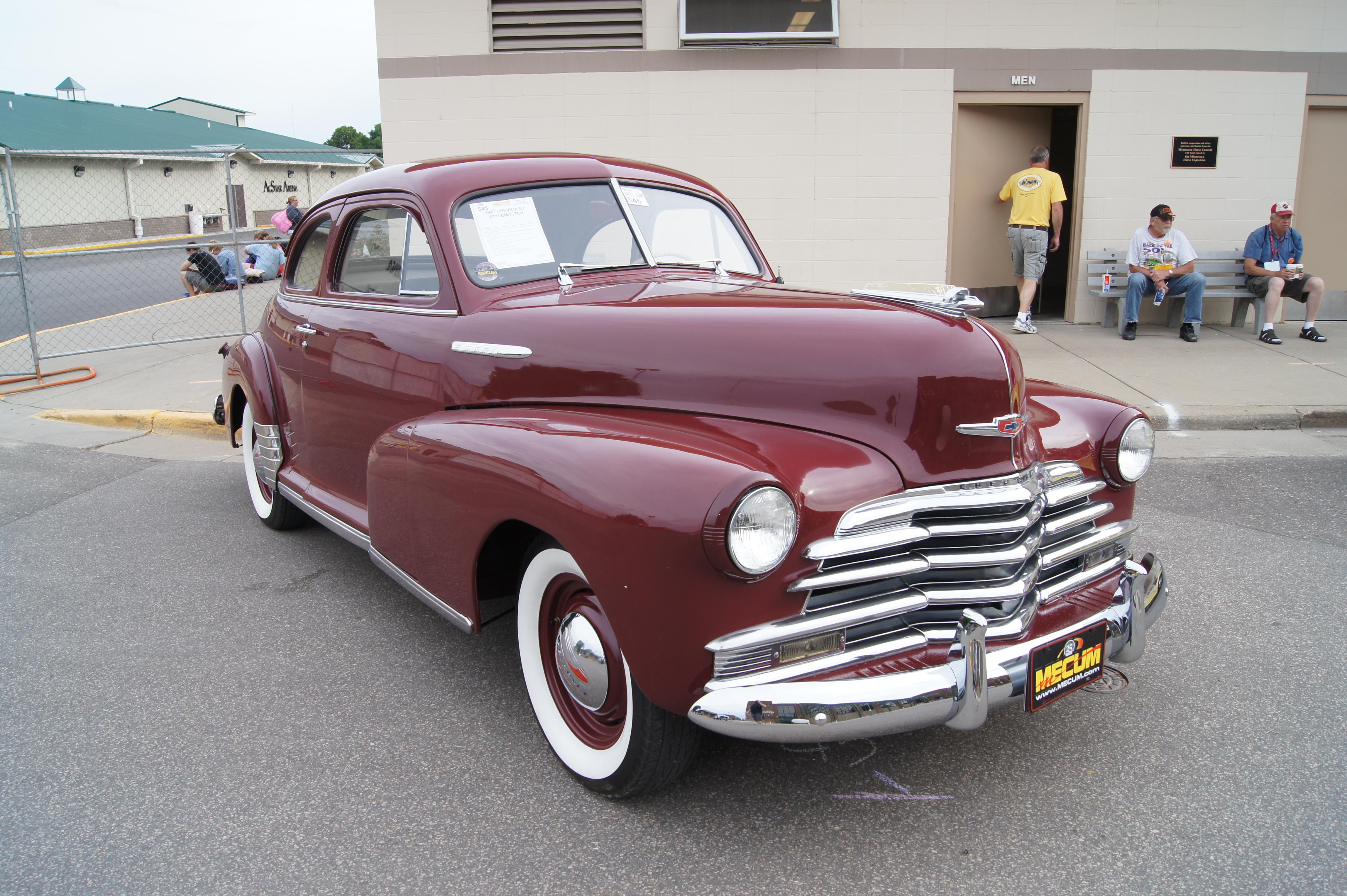 4 Door 1948 Sedan Fleetmaster Chevrolet